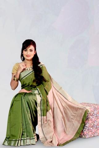 Tussar Silk Jamdani