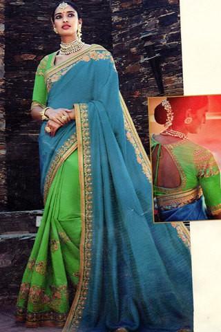 Kimora Sunehri Tussar Silk