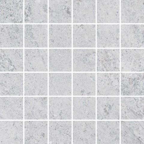 Hillock light grey mosaic tile