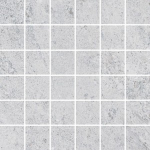 Hillock light grey mosaic tile