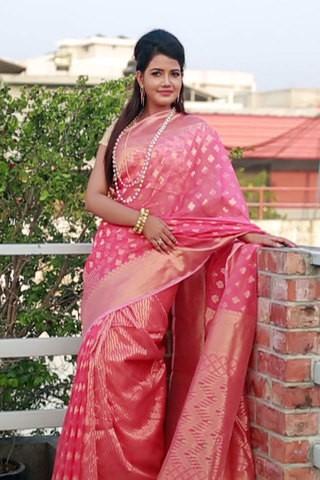 Silk Reshom Jamdani