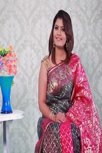 Pure Reshom Jamdani