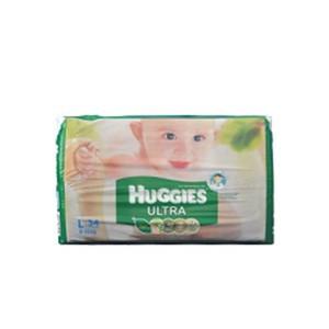 Huggies Baby Diaper Ultra L  (8-13 kg) (হাগিস বেবী ডাইপার আল্ট্রা) - 34pcs