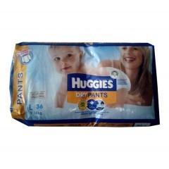 Huggies Dry Pants Diaper L (9-14 kg) (হাগিস ড্রাই প্যান্ট ডাইপার) - 36pcs