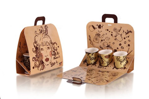 Personalized Creative Paper Packaging