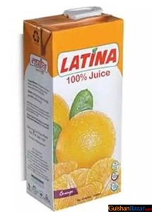 Latina 100 % Juice (Orange) 1 ltr Tk150