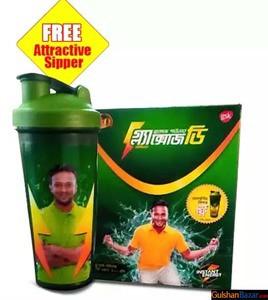 Glaxose D Glucose Powder Box 400 gm (Free Attractive Sipper) Tk135