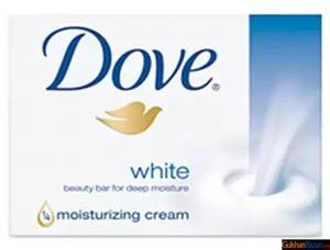Dove Beauty Soap White 135 gm Tk 90