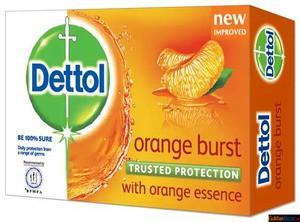 Dettol Orange Burst Soap 75 gm Tk32