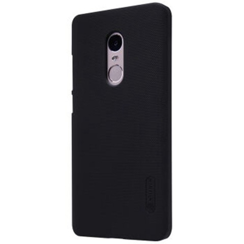 Nillkin Frosted Back Case for Xiaomi Redmi Note 4X + free screen protector