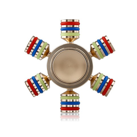 Hexagonal Metal Fidget Puzzle Spinner