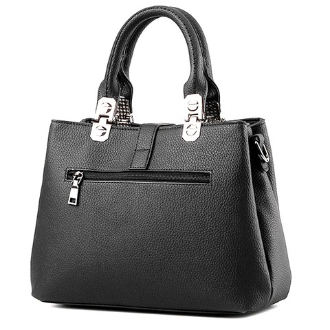 Black hand-bag for her