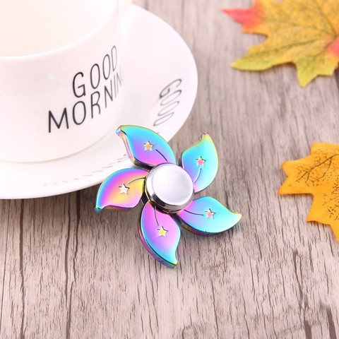 FIDGET SPINNER COLORFUL BAUHINIA FLOWER SHAPE