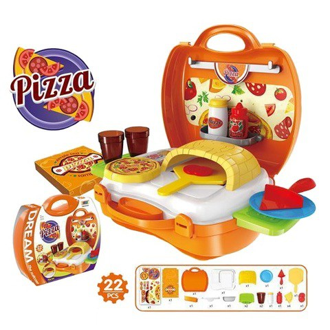 Pizza Suitcase