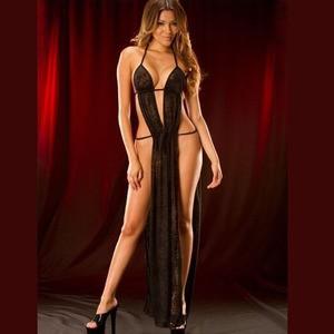 Lovebite sexy robe gauze skirt Lace elegant pajamas costumes lingerie dress