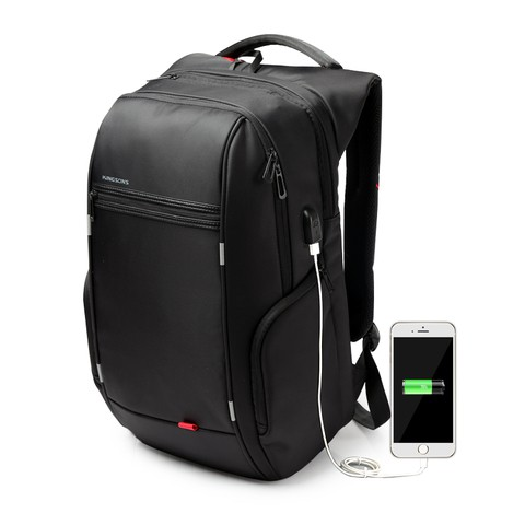 Kingsons Water Resistant Laptop Backpack(Dual Compartment)
