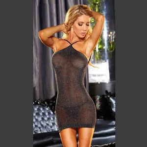 Lovebite Sexy Lady Silk Lace Sleepwear with G-String