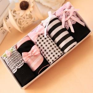Lovebitebd 5pcs/Lot Bow Cotton G String Thong For Women
