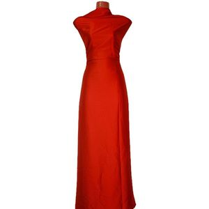 Shamu Silk Solid-Red