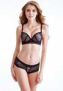 Lovebitebd Push Up Lace Bra Set For Women