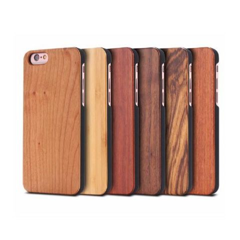 Wood Backed Case for iPhone