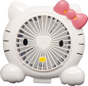 Hello Kitty Portable Rechargeable Fan