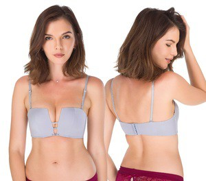 Lovebitebd Deep-V Square Bra Set For Women