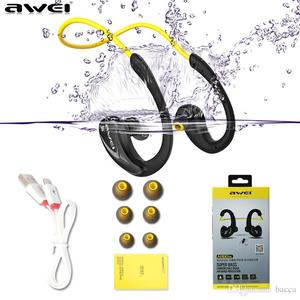 AWEI A880BL Wireless Bluetooth V4.0 Headphones Sports Stereo Earphones