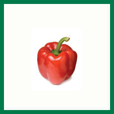 Red Capsicum (লাল ক্যাপসিকাম) - 250gm