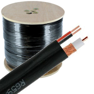 Vedio Cable + Electric Power Cable