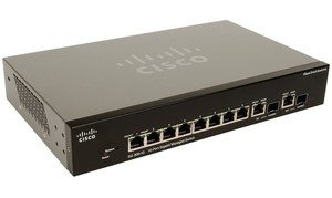 Cisco SG300-10SFP-K9 10-Port Gigabit Managed SFP Switch