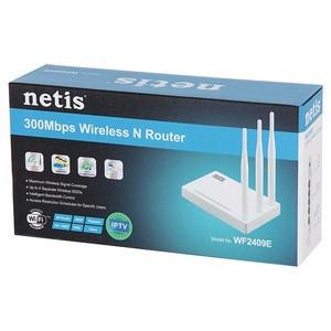 Netis router WF2409E  300Mbp 5-DBI
