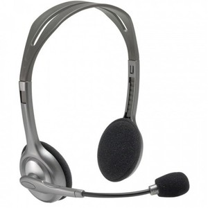 Logitech H111 Stereo Single Port Head Phone