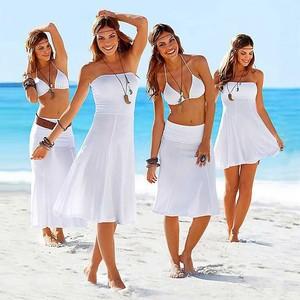 Lovebite Convertible Multi Wears Infinite Cover Ups Summer Beach Dresses