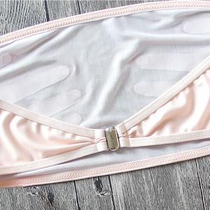 Lovebite woman Hand Bra Sexy Strapless Swimwear