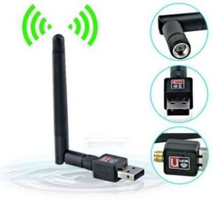 300 Mbps nano Wifi  USB Dongle with Antena USB Adapter