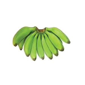 OB Green Banana (kacha Kola) - 1hali