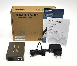 TP-Link  Gigabit Single-Mode Media Converter