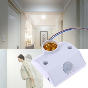 Sensor Automatic Energy Saving LED Light Lamp Holder Switch