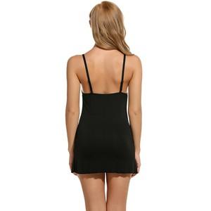 Lovebite Spaghetti Strap V-Neck Lace Lounge Dress Night Shirt Sleepwear Nightwear