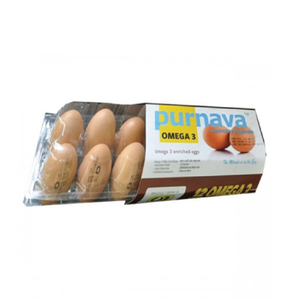 Purnava Omega 3 Enriched Egg - 12pcs