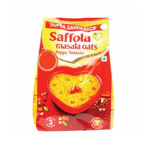 Saffola Peppy Tomato Masala Oats - 40gm