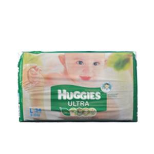 Huggies Baby Diaper Ultra-L(8-13-KG) - 60pcs