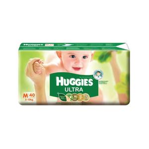 Huggies Baby Diaper Ultra-M (5-10-KG) - 72pcs