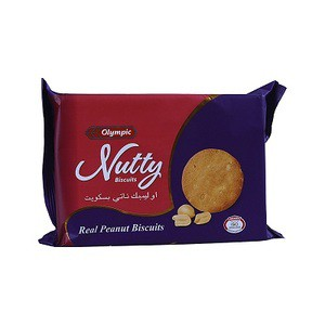Olympic Nutty Biscuits - 250gm