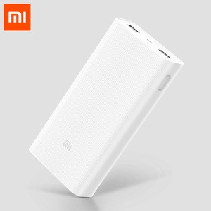 20000mAh Xiaomi Mi Power Bank 2C Support Two-way Fast Charging QC 3.