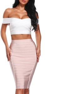 Lovebitebd V-neck Off Shoulder Crop Tank Top For Women