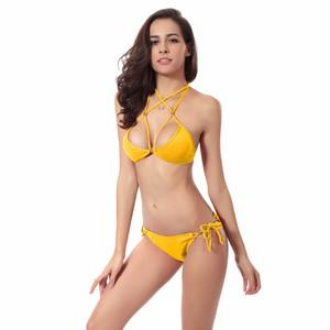 Lovebite Bandage Brazilian Push up Bikini Women Swimwear Swimsuit