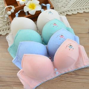 Lovebitebd Cotton Kitten Comfortable Bra Set For Women