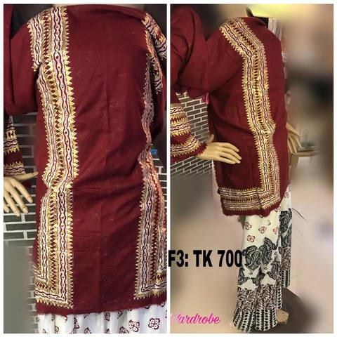 Unstitched Top/F3